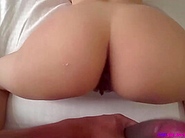 Tits stepsis hits puberty getting horny...