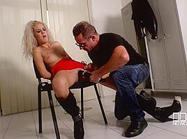 David perry monique woods locker rocker bound submissive...