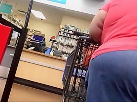 Granny wide load...