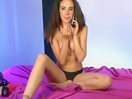 Horny amateur babes scene...