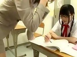Japanese teacher convinced...