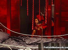 Felicity feline robbed and roped part 2 hostelxxx...