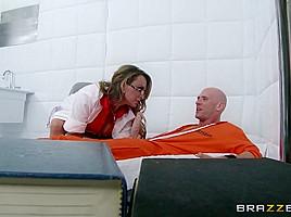 Doctor adventures jailhouse fuck...