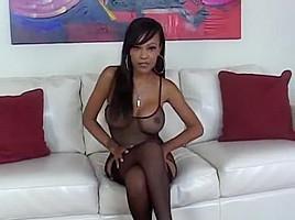 Hot black babe...