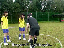 Subtitled enf nudist soccer penalty game hd...
