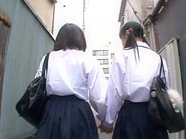 Asami tsuchiya karen haruki in in the rooftop...
