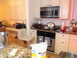 Bbw in the kitchen...