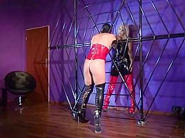Mistress marta fucked in her spiderweb...
