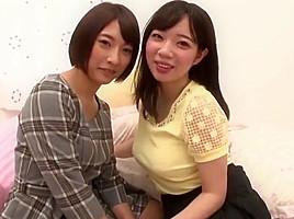 Japanese les kiss 1...