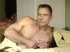 Horny morning routine army...