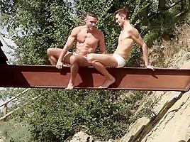Couple outdoor...