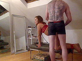 Submissive young wife has...