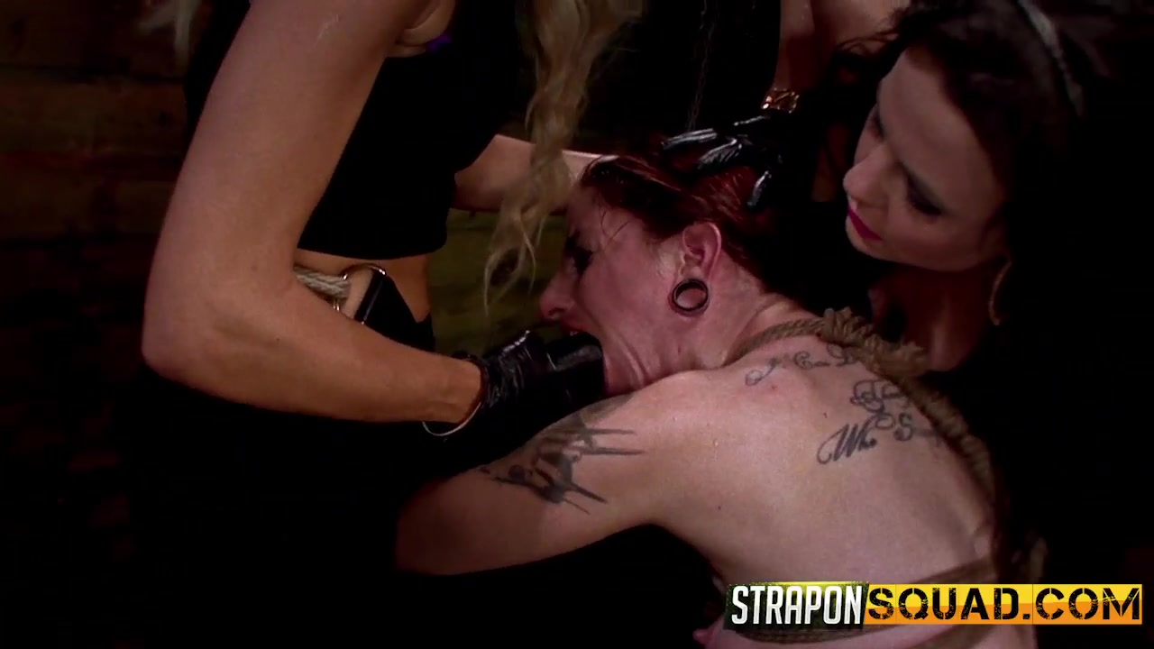 Sheena Rose Endures More Lesbian Domination from Mila Blaze & Brooklyn Daniels