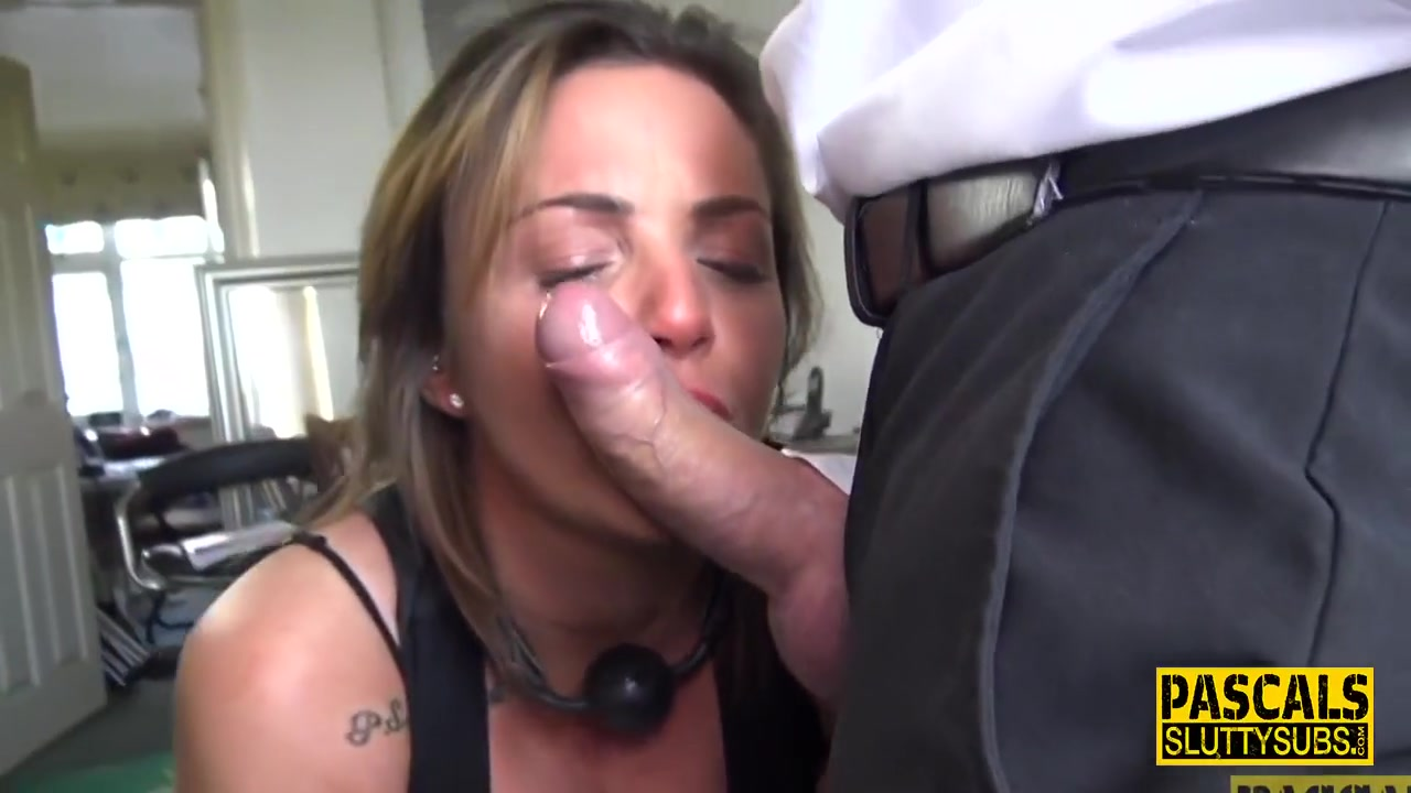 Dick Sucking Milf Submissive With Huge Boobs