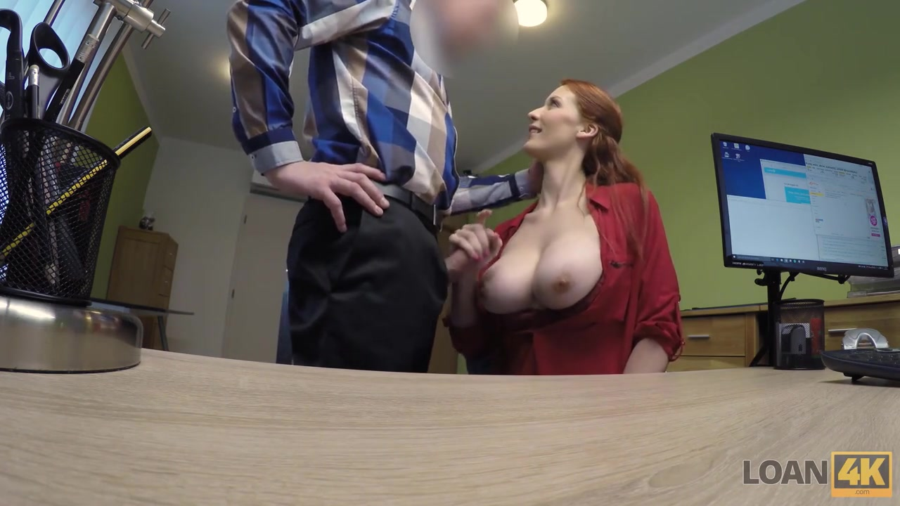 LOAN4K. Alluring redhead wants a vet clinic and knows how...