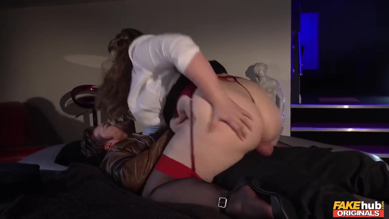 A Lingerie Clad Chick With 50 Inch White Ass Takes A Hard Pounding - Ryan Ryder, Tina Kay And Kristof Cale