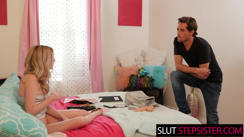 Lexi Lore learns about anal from step brother - slutstepsister
