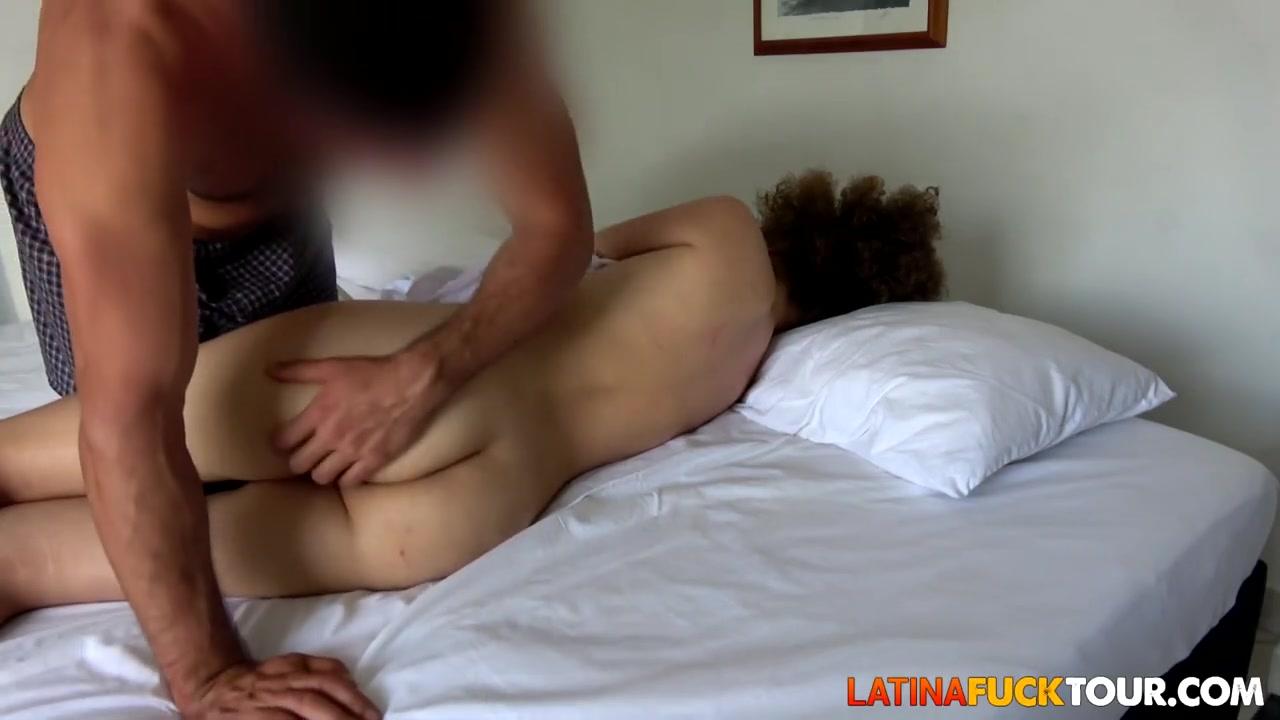 curly hair brunette latina anal rides landlord