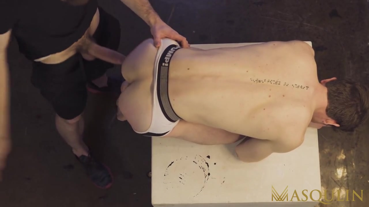 MASQULIN Linus Gray Ass Licked Before Raw Sex Thyle Knoxx