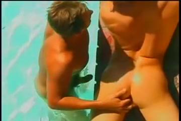 Super hawt muscled homosexual hunks pumping ravishing arse holes outdoor