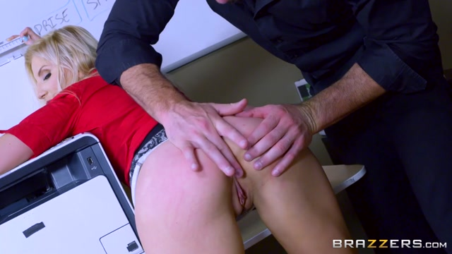 Ashley Fires & Charles Dera in Wham Bam Thank You Paper Jam - Brazzers