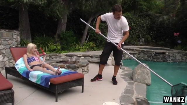 Naughty Teen Piper Perri Seduces the Pool Guy