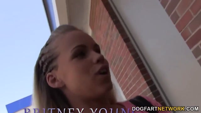 Britney Young gets creampied by BBCs - Gloryhole