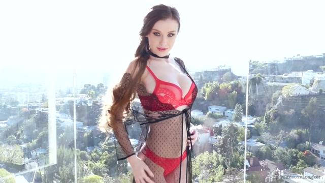 Emily Bloom in Sexy Sunbath - PlayboyPlus