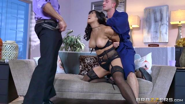 Mia Li & Bill Bailey & Xander Corvus in Lets Both Fuck Her - Brazzers