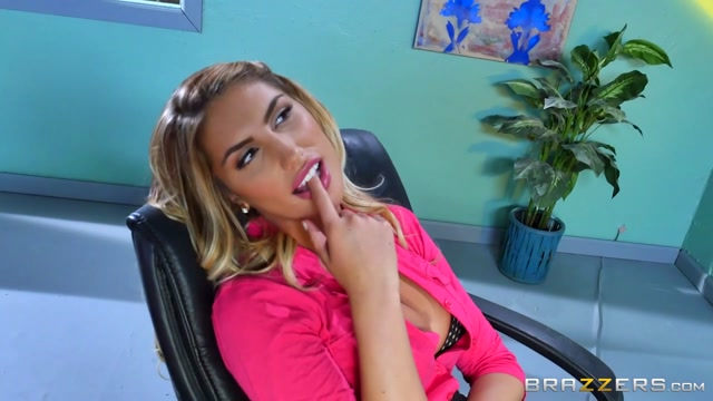 August Ames & Charles Dera in August Briefs Her Boss - Brazzers