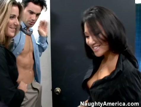 Asa Akira & Kayla Paige & Charles Dera in Naughty Office