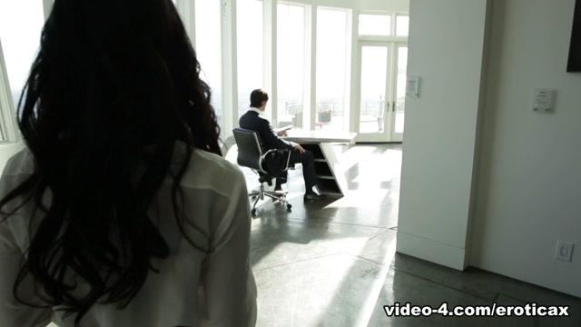 Megan Rain & Jean in Role Playing- Boss/Secretary - EroticaX