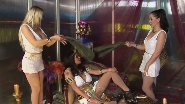 Amazing pornstars Anaya Leon, Linsey Mckenzie and Cindy Behr in fabulous big tits, threesomes xxx scene