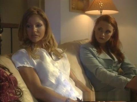 Best pornstars Amber Michaels and Vivi Anne in exotic threesomes, blowjob xxx clip