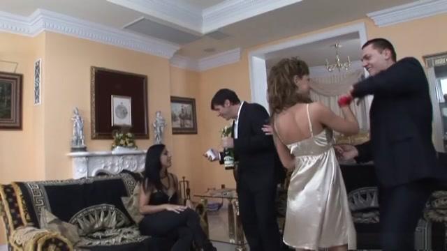 Amazing pornstars Simony Diamond, Jennifer Love and Kyra Black in best redhead, fishnet xxx video