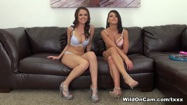 Adriana Chechik & Dillion Harper in Adriana and Dillion Live - WildOnCam