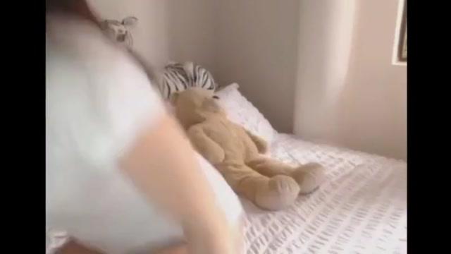 Horny college girl girl on webcam