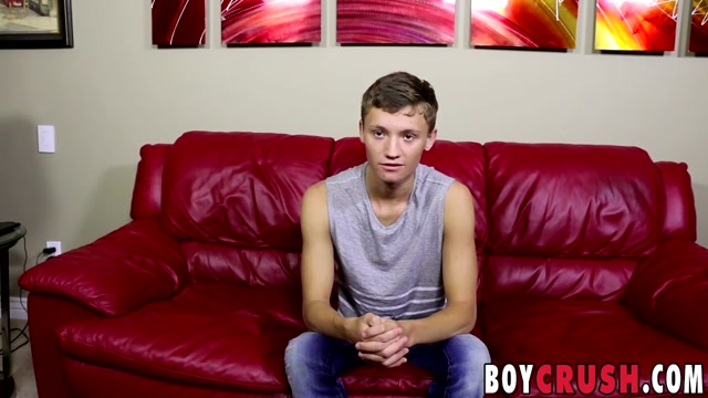 Matthew Cole in Lusty Matthew Cole was waiting all day to wank his boner - BoyCrush