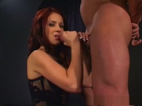 Hottest pornstar Dani Woodward in exotic foot fetish, redhead sex clip