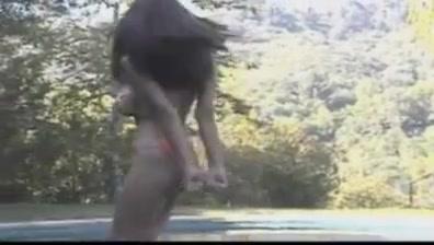Petra verkaik dancing in pool but naked