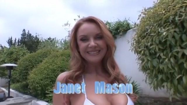 Crazy pornstar Janet Mason in best interracial, big tits adult video