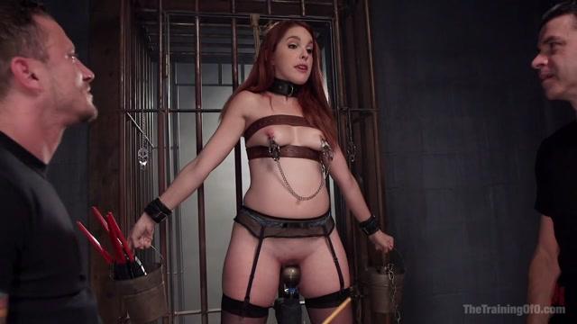Redhead Spanish Slave Training - Amarna Miller Day 3 - TheTrainingofO