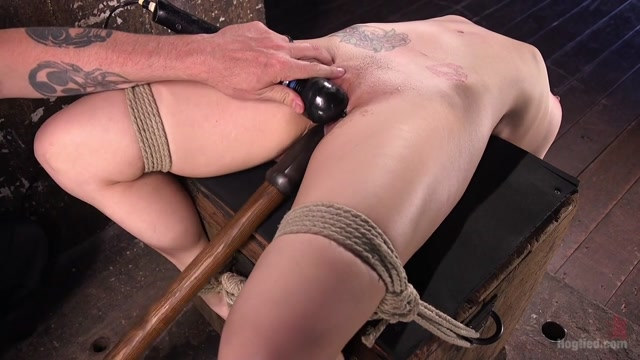 Dahlia Sky in Dahlia Sky Submits To Punishing Bondage And Torment - HogTied