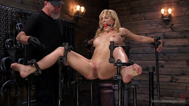 Cherie Deville & The Pope in Athletic Milf Fuck Toy Cherie Deville Punished In Bondage And Sybian - DeviceBondage