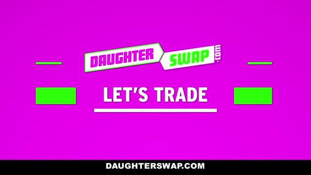 Kitty Katherine & Sadie Pop in Daughterly Displacement - DaughterSwap