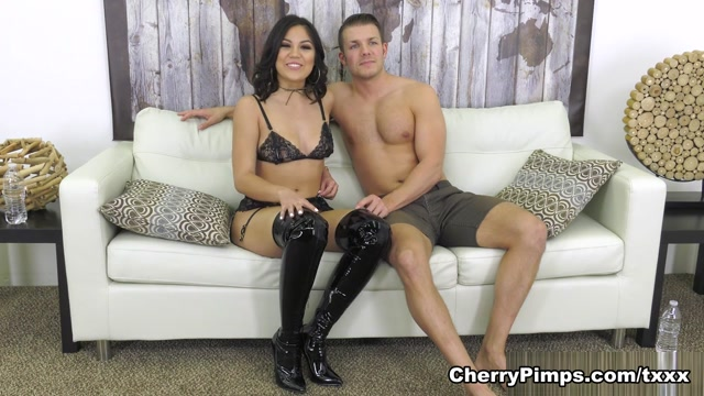 Codey Steele & Kendra Spade in Kendra in Lace and Latex - WildOnCam
