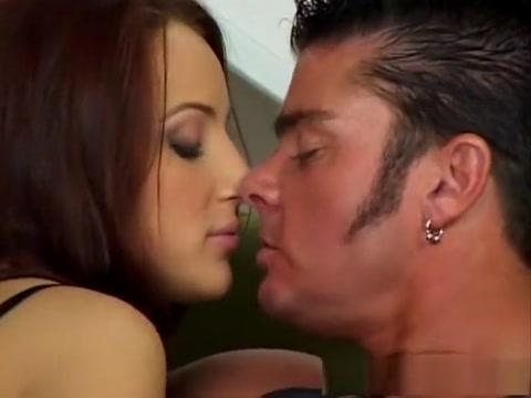 Crazy pornstar Dani Woodward in exotic lingerie, facial sex scene