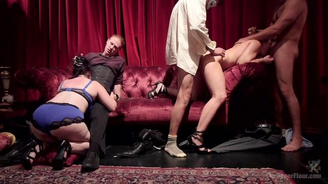 Aiden Starr & Mickey Mod & Marco Banderas & Ella Nova & Joseline Kelly in Anal Slut Slaves Serve A Bdsm Swingers Orgy - TheUpperFloor