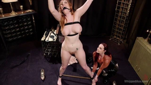 Lauren Phillips & Bella Rossi in Bella Rossi Breaks In Redhead Lesbian Anal Slave - WhippedAss