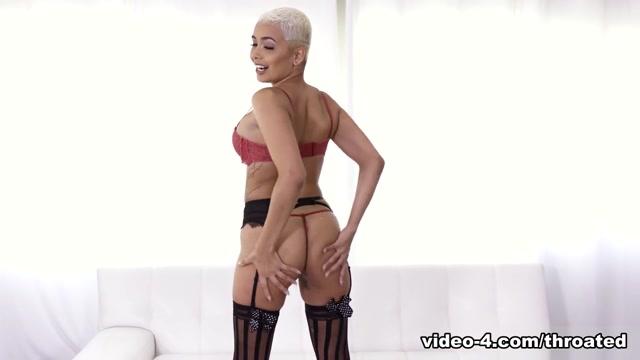 Aaliyah Hadid & Isiah Maxwell in Swallow My Monster Black Cock - Throated